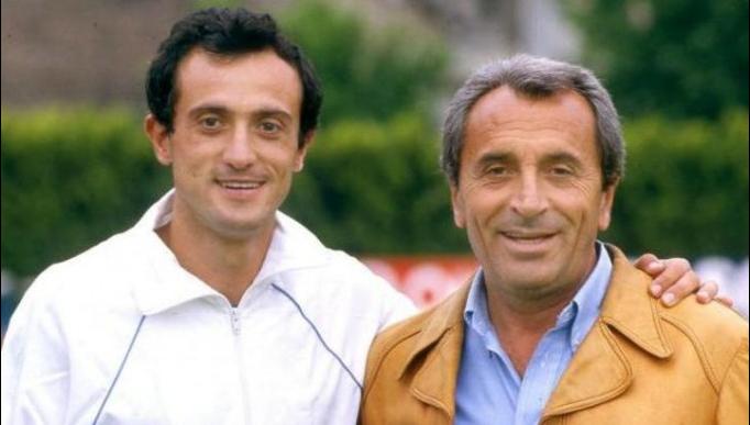 Pietro Mennea e Carlo Vittori